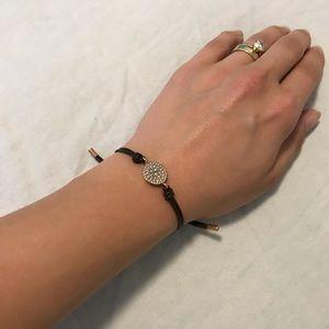 Fossil Leather Bracelet